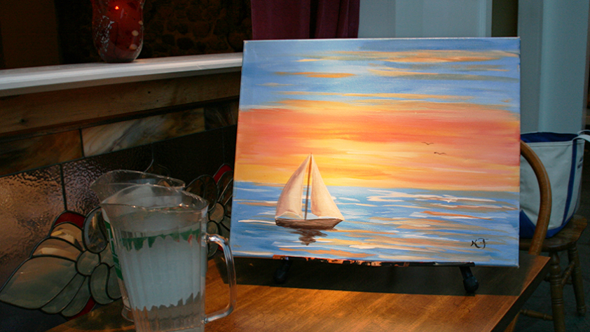 Wine and painting classes manchester vermont for Painting and wine