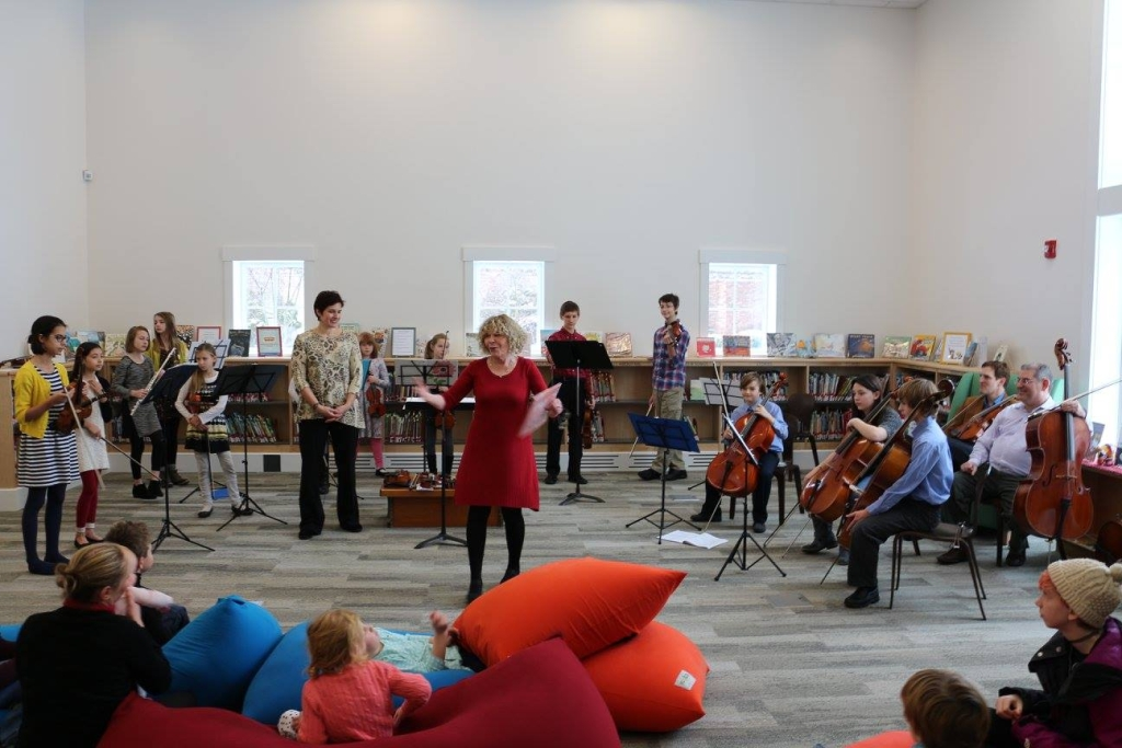 MMF Youth Ensemble at the Manchester Community Library