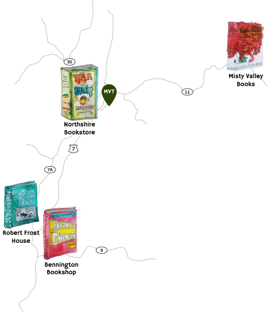 Independent Bookstores in Southern Vermont