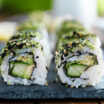 kale-avocado-and-cucumber-sushi