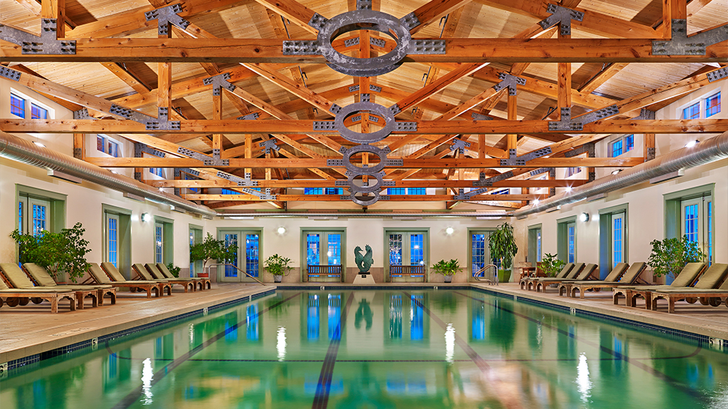 Lap Pool at Equinox Spa