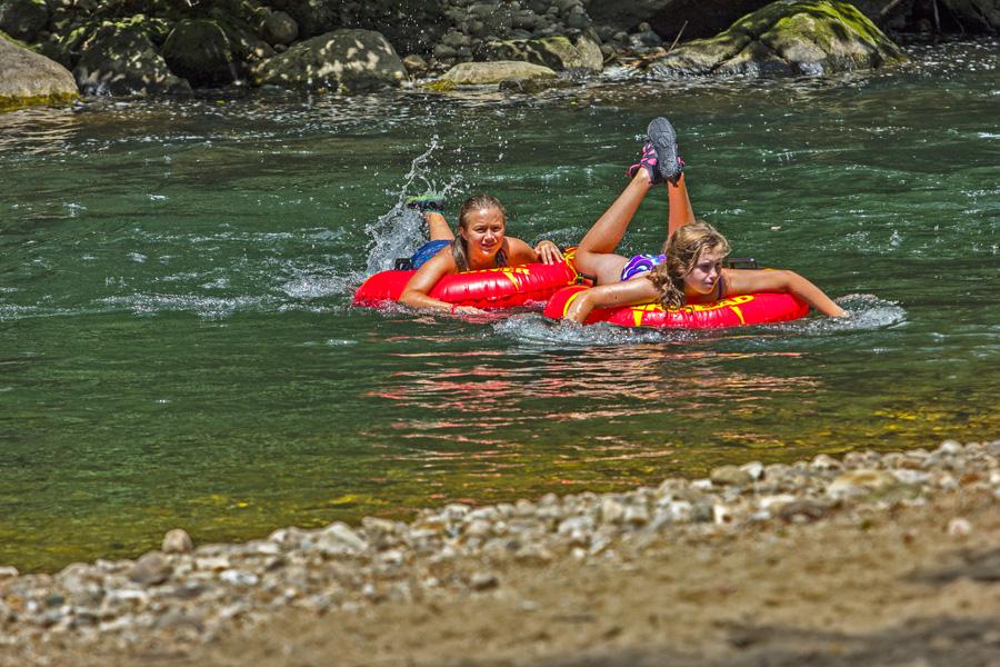 Summer Fun! Photo © Camping on the Battenkill