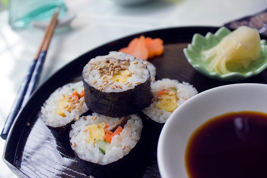 cafe sora sushi roll