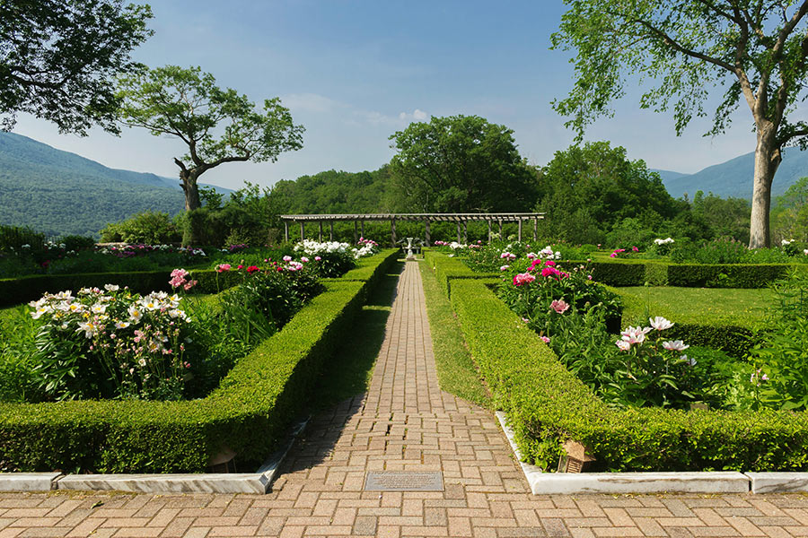 Hildene Formal Garden