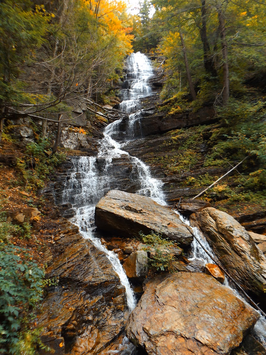 Lye Brooks Falls Manchester Vermont