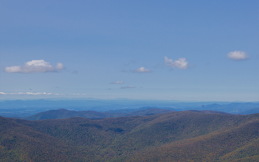 Mount Equinox Summit View