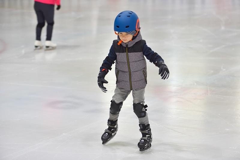 boy on ice skates riley rink
