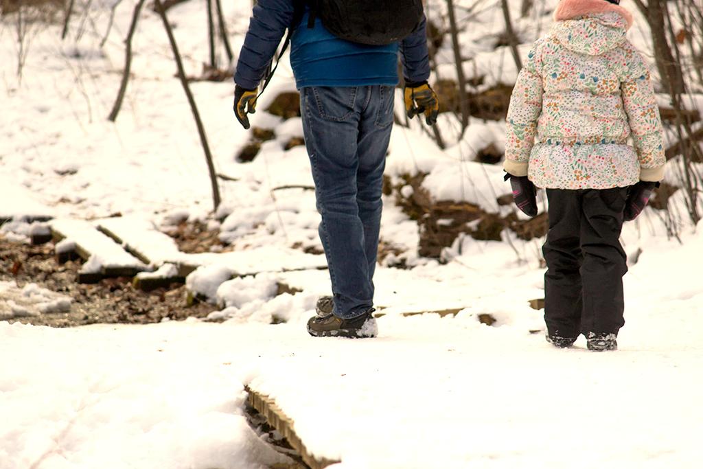 equinox pond preserve walk child
