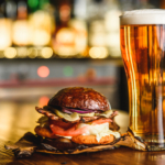 hamburger-and-light-beer-on-a-pub-background-2