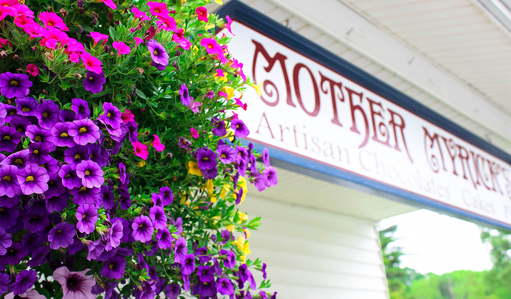 mother myrick's confectionery in manchester vermont