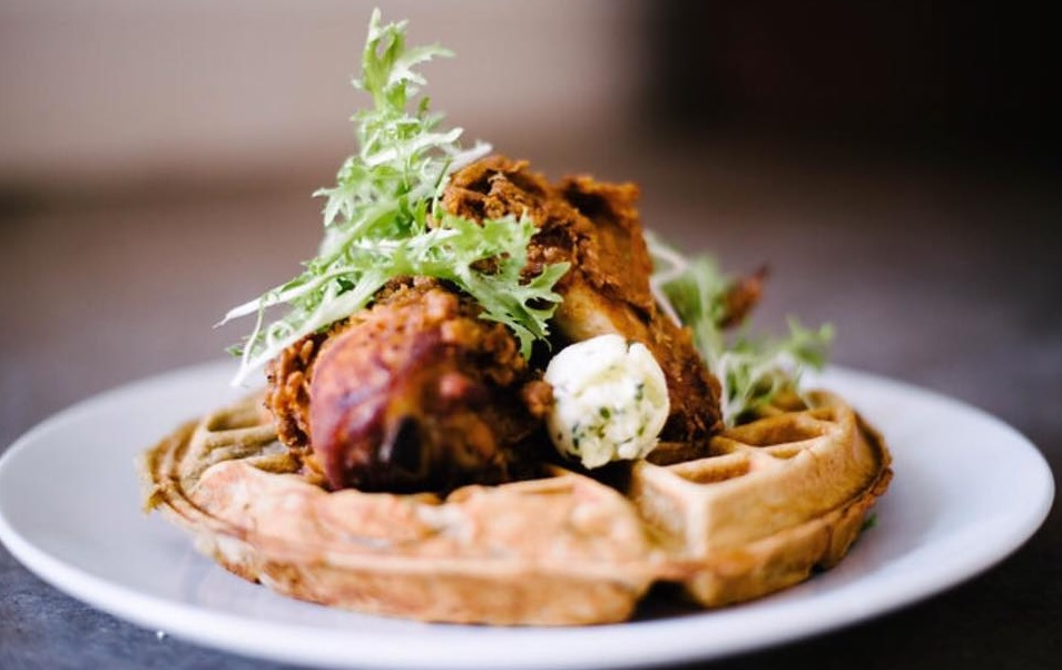 Hapgood Chicken and Waffles