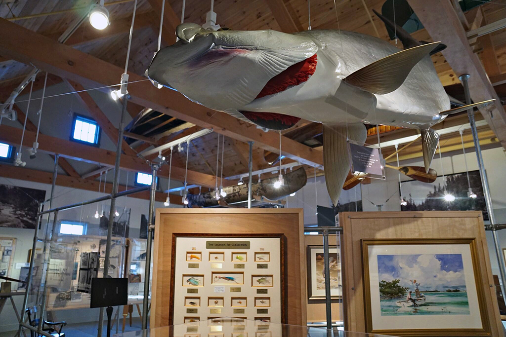 fly fishing museum exhibit